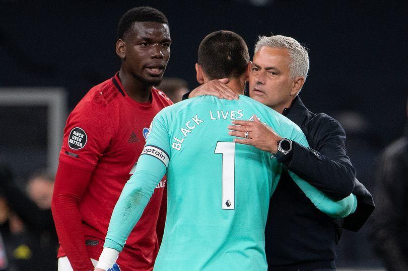 穆帅在曼联与博格巴闹翻,仍高度评价他!上赛季英超相遇仍有交流