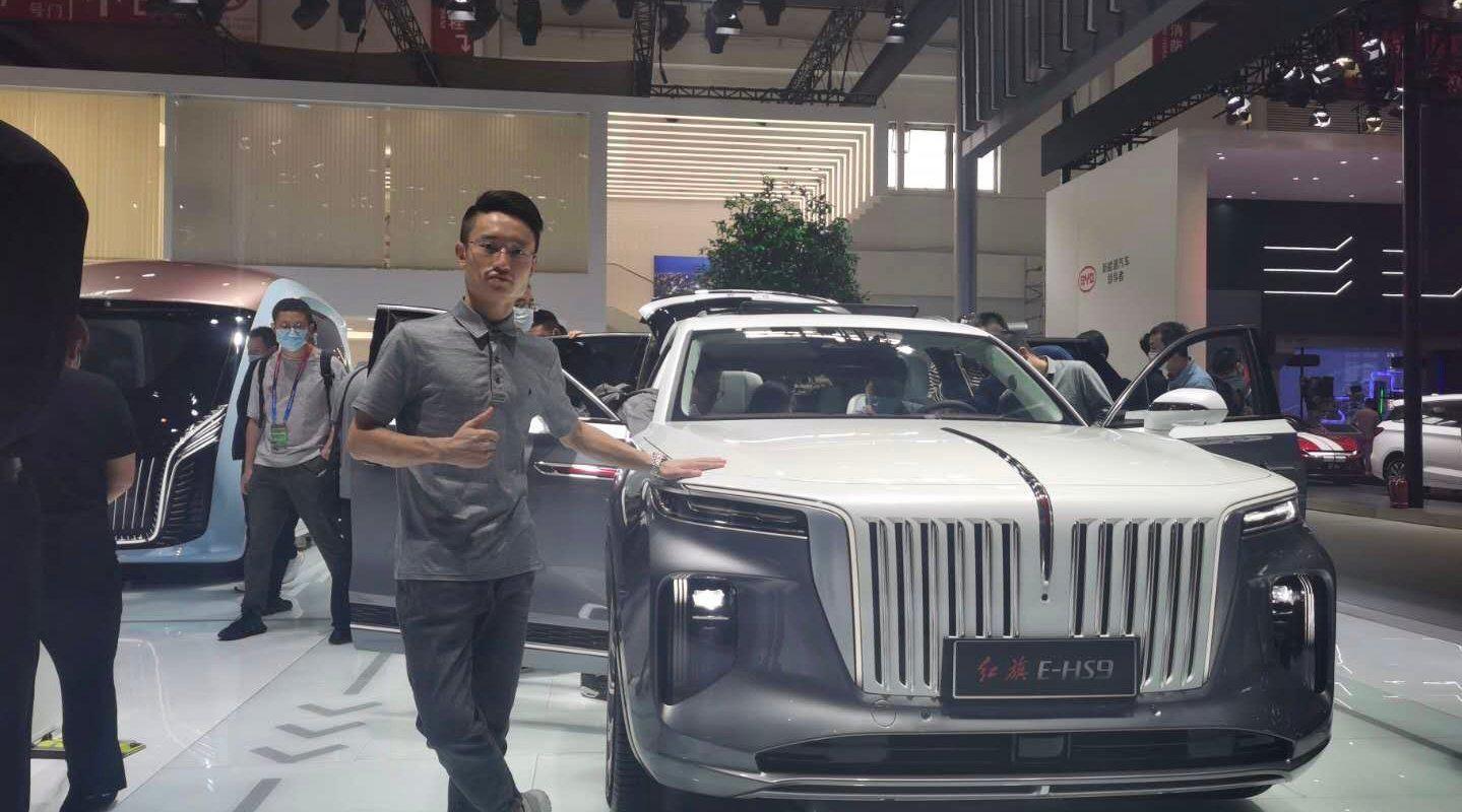 中国版库里南,比RR还猛!北京车展实拍解读红旗E-HS9