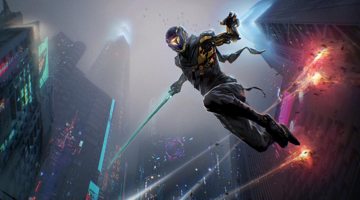 第一人称硬核斩杀游戏《Ghostrunner》试玩Demo已经上架Steam