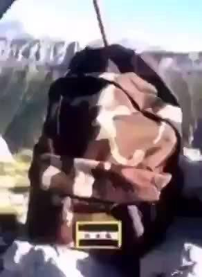 支持的叙利亚国民军在阿塞拜疆