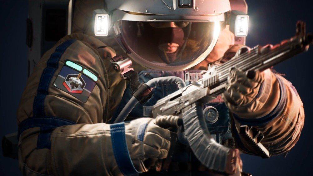 索尼 柳叶刀工作室开发的太空题材射击游戏《边境》