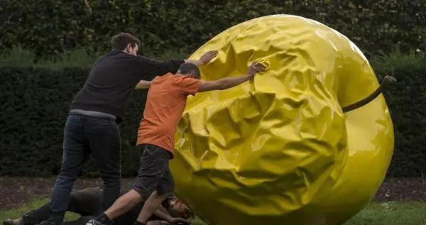 雕塑天堂!英国伦敦街区艺术周开始