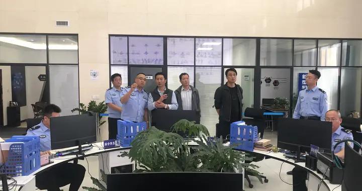 丹凤县公安局考察组来蒲城县交流学习禁毒工作
