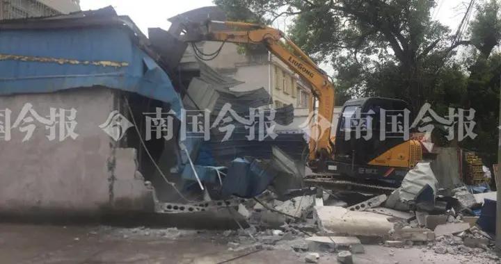 """清理柳州""""西大门""""!柳南城管拆除柳太路沿线违法建设43处"""