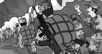 """刚入营就有了自己的战斗编号,新兵""""第一课""""要多点硝烟味"""