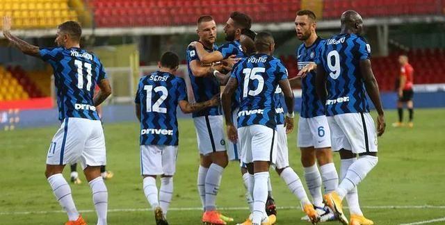 包括本场国米客场5-2击败贝内文托;两场比赛国米打进9球,丢了5球