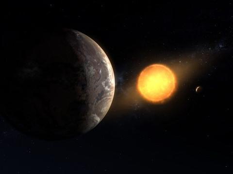 真的很诡异,这颗系外行星温度达3000℃,公转轨道更加离奇