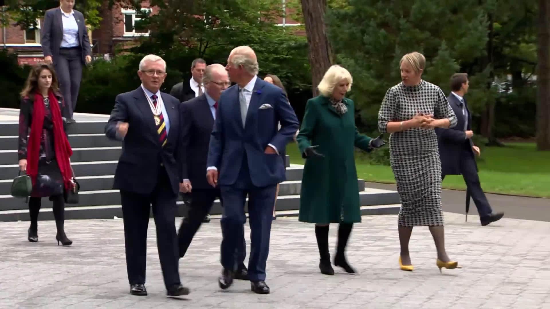威尔士亲王和康沃尔公爵夫人参观Ulster