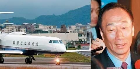 郭台铭嫩妻发布全家福,曝光奢华私人飞机内景,当年刘嘉玲也坐过