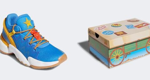 宝儿新闻报 |adidas重磅联名《玩具》 胡迪、巴斯化身最强篮球鞋