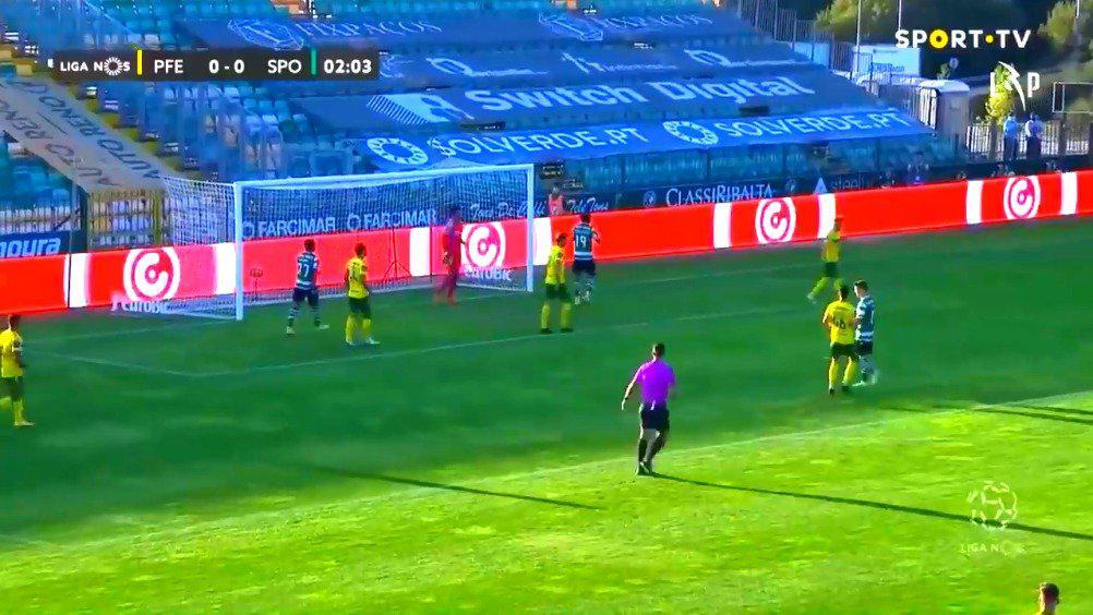 葡超集锦第2轮:费雷拉 0-2 葡萄牙体育