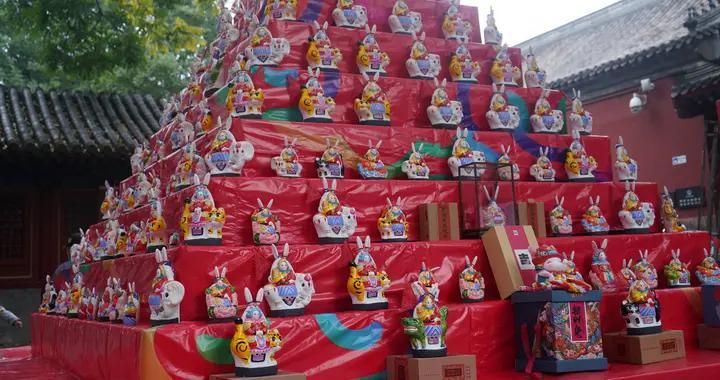 又见8层兔爷山,民俗博物馆节俗体验活动陪市民过地道中秋