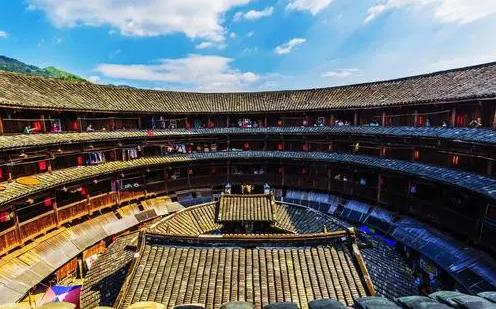 2020中国漳州旅游景点:十里蓝山、客家土楼、东南