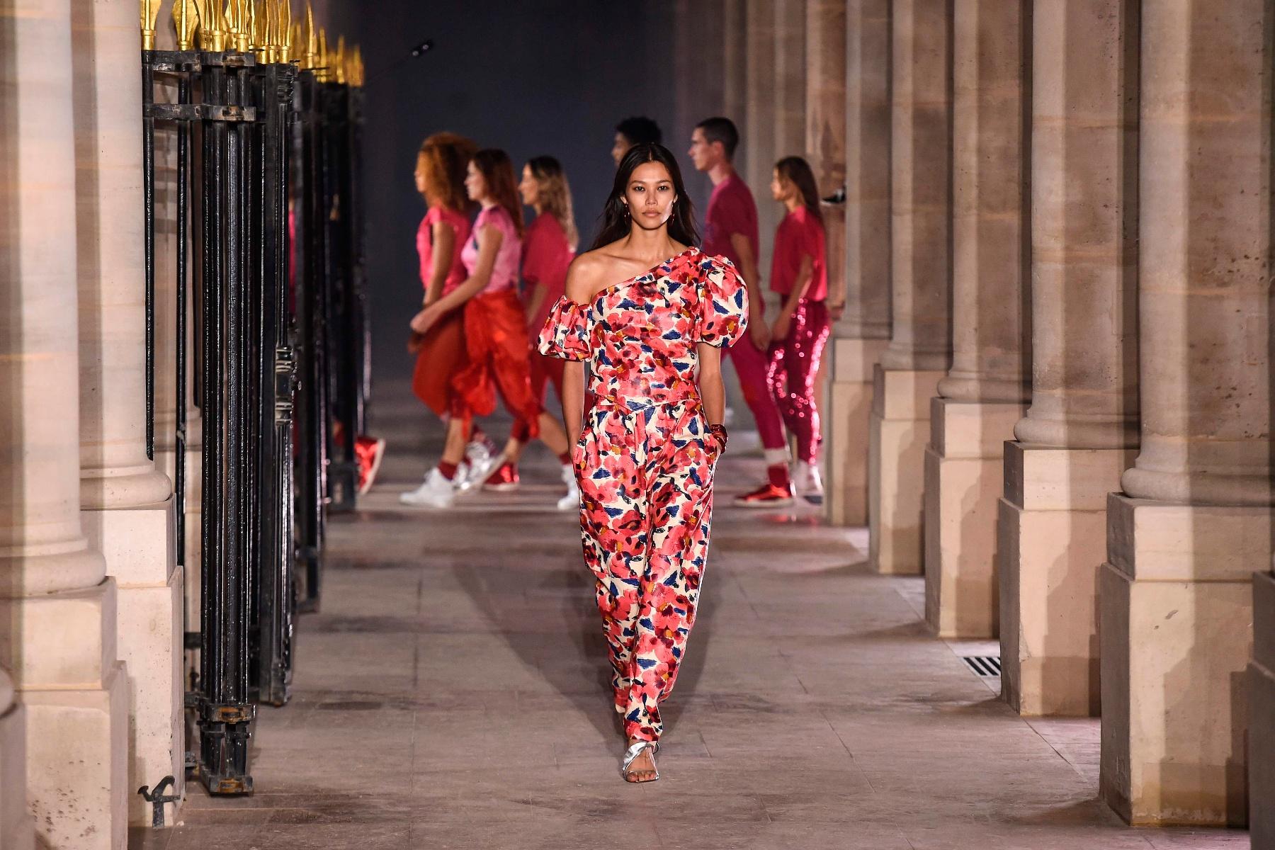 巴黎时装周——Isabel Marant品牌时装秀
