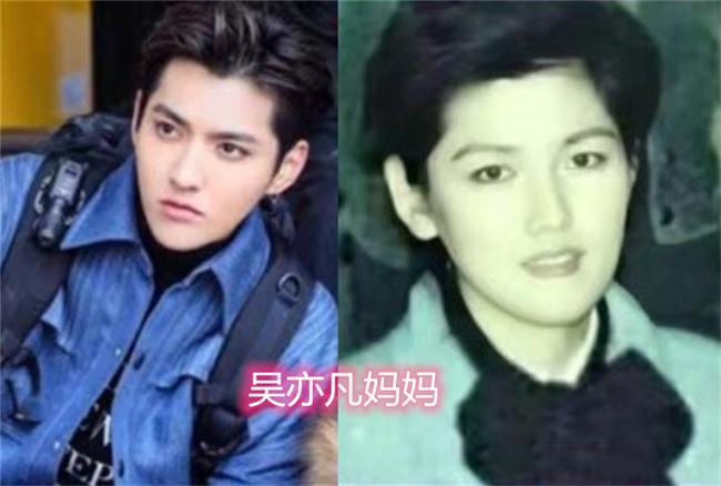 明星和妈妈长得有多像,肖战吴亦凡还好,看到杜海涛:共用一张脸