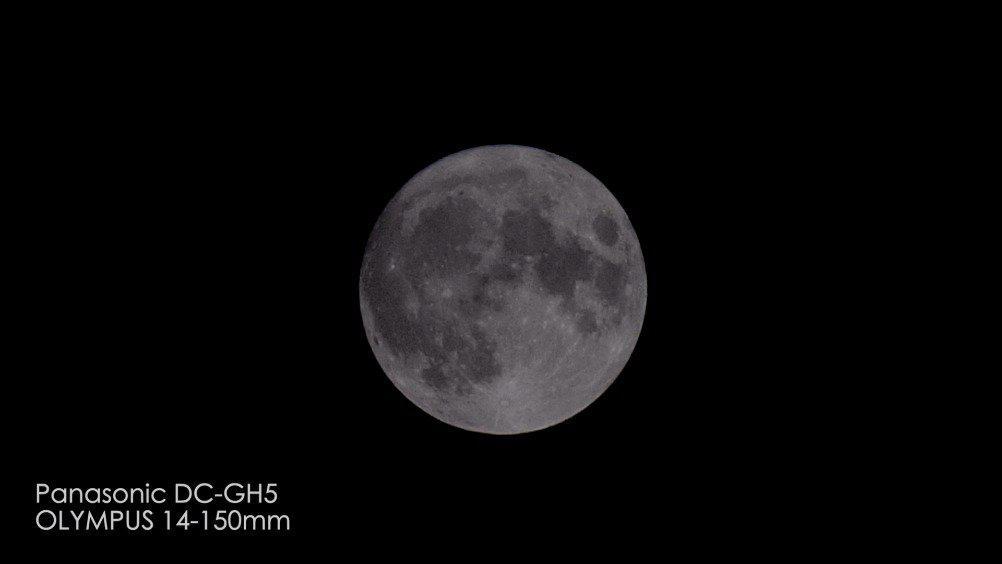 拍月亮 •2020-10-1 •国庆&中秋_SZ •GH5_奥林巴斯14-200MM