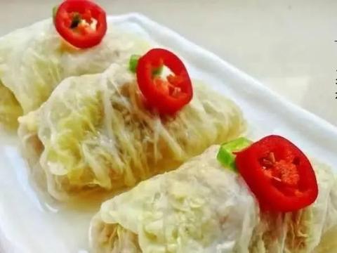 美食精选:白菜肉卷、蒜蓉蒸香菇、肉丁小炒、红烧牛肉