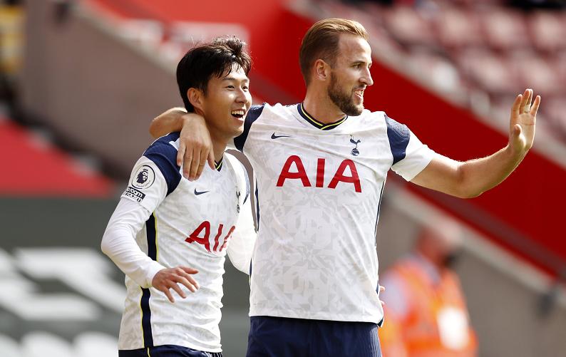 孙兴慜成为英超赛场上第28位上演过大四喜的球员,同时也是第一位上演大四喜的亚洲球员