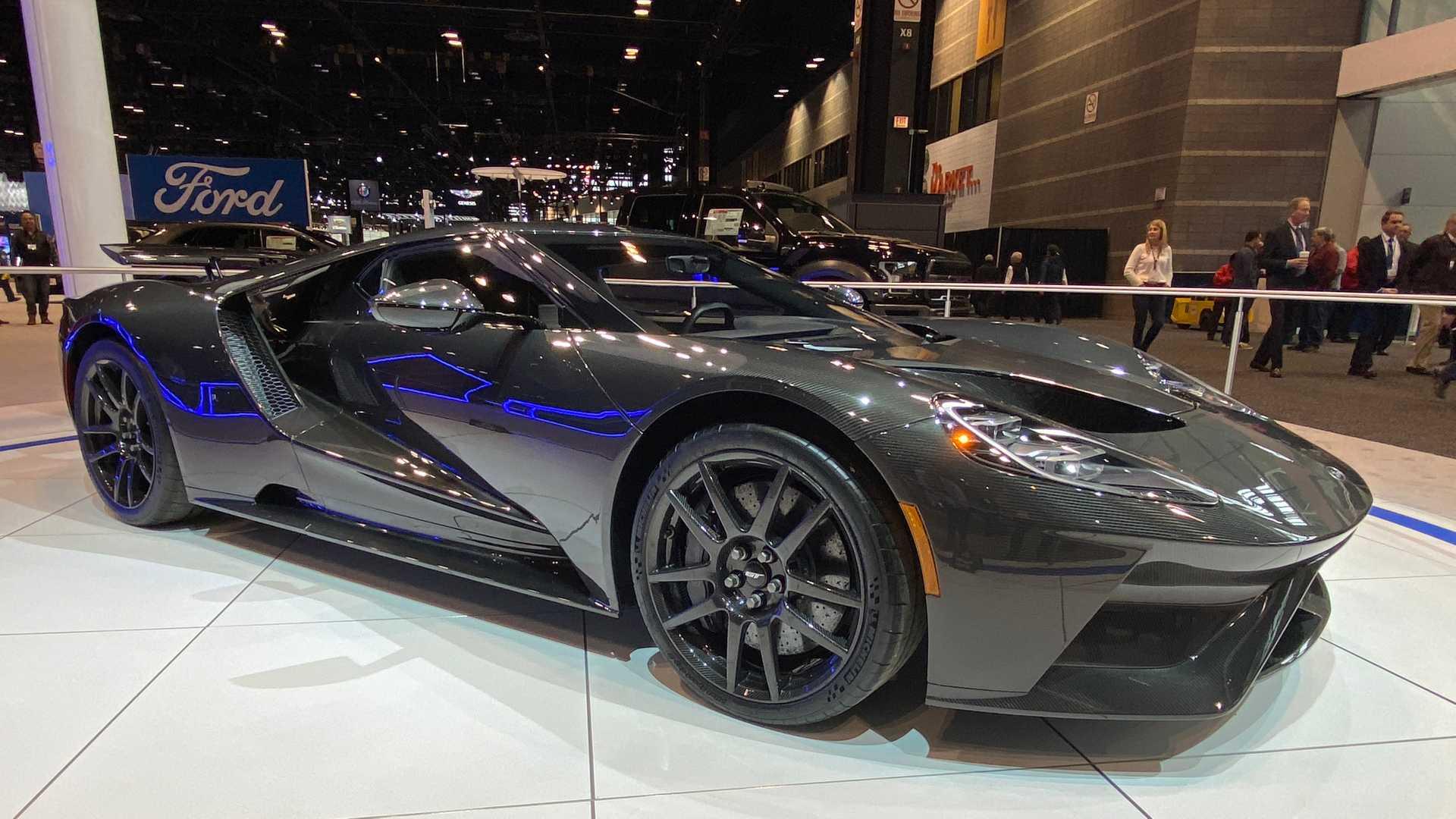新款福特GT跑车将推出特别版的带有EcoBoost动力
