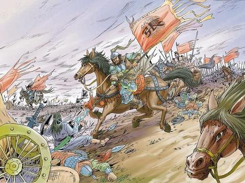 两马相错算一合:平常说大战三百回合,非得把战马累趴下不可
