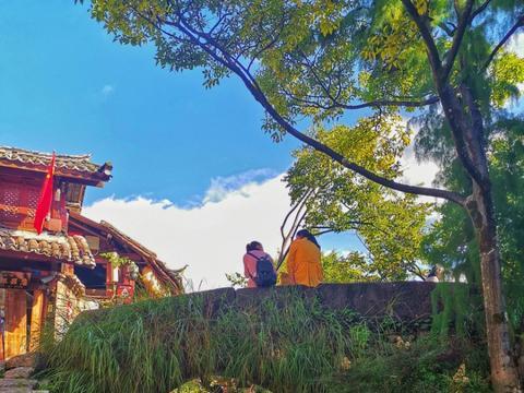 休假进入倒计时 再一次领略丽江古城的秋