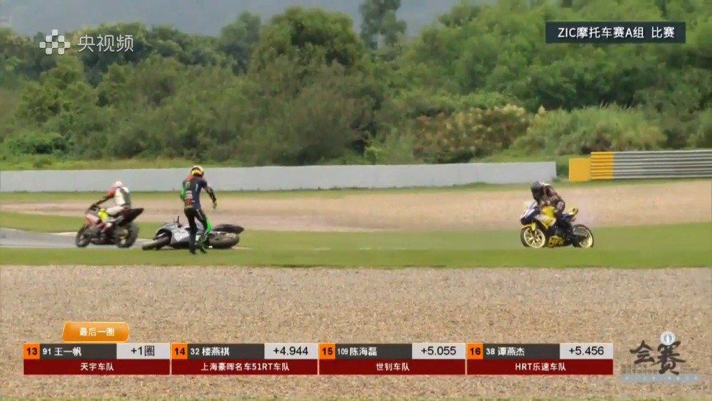 今天(7日),2020首场ZIC摩托车赛在珠海国际赛车场举行