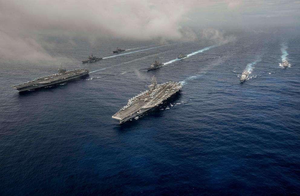 美国水师航母战斗群