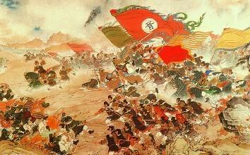 官渡之战后 袁绍又一次有机会消灭曹操 但他选择了为汉民族而放弃