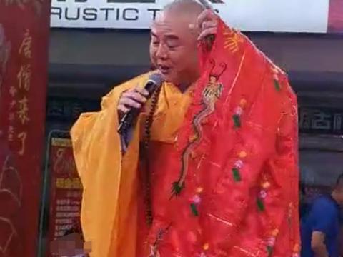 62岁唐僧徐少华罕露面,发福圆润仍商演,与六小龄童发展差太多
