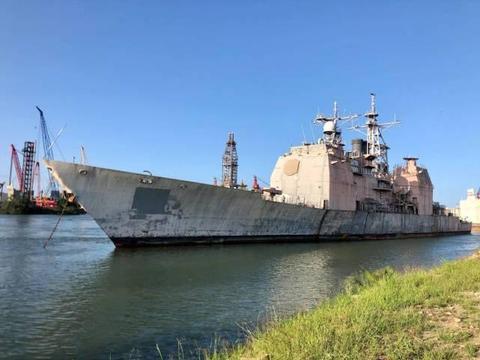 财大气粗!美军首艘宙斯盾舰拆解,仅服役十余年,改造不如造新舰