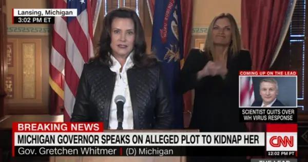"""一群男子密谋绑架美国州长,并进行""""叛国罪审判""""…被FBI端了"""