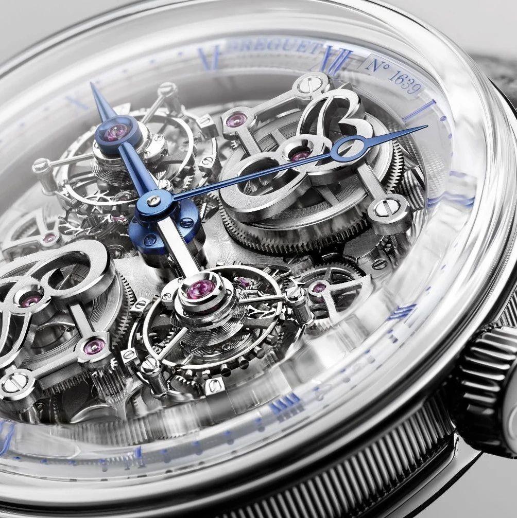 特别策划   宝玑 Classique 经典系列 5345 双旋转陀飞轮钟表堤岸腕表