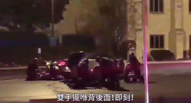 密尔沃基,国民警卫队将记者强行拖出车拘捕
