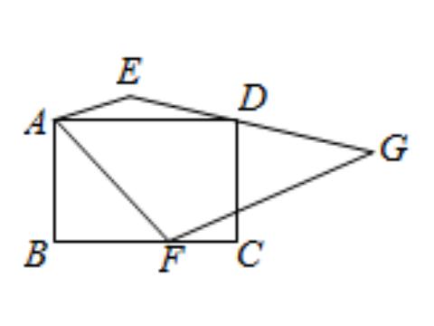 已知D是EG的中点,求梯形AFGE的面积,正确画出辅助线是关键