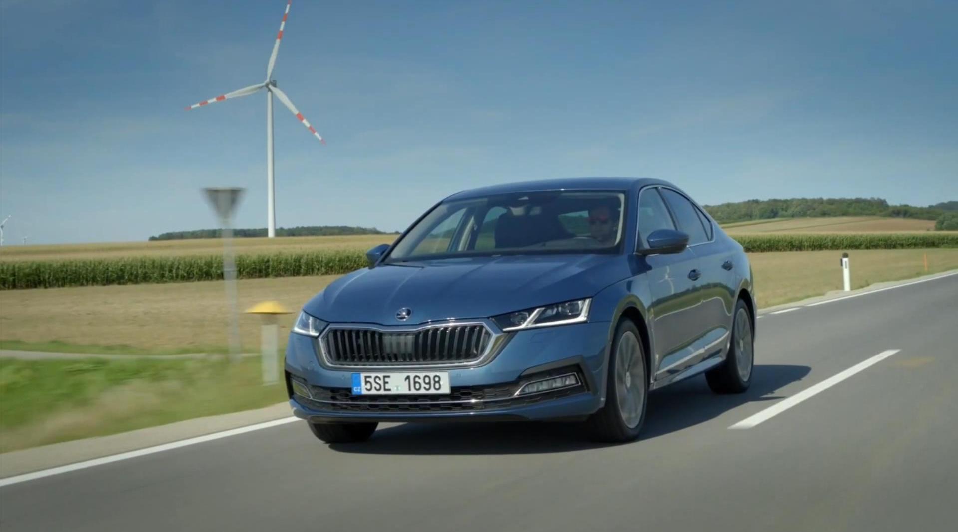 视频:品牌首款轻度混合动力车型!2021款斯柯达(Skoda)明锐e-Tec亮相