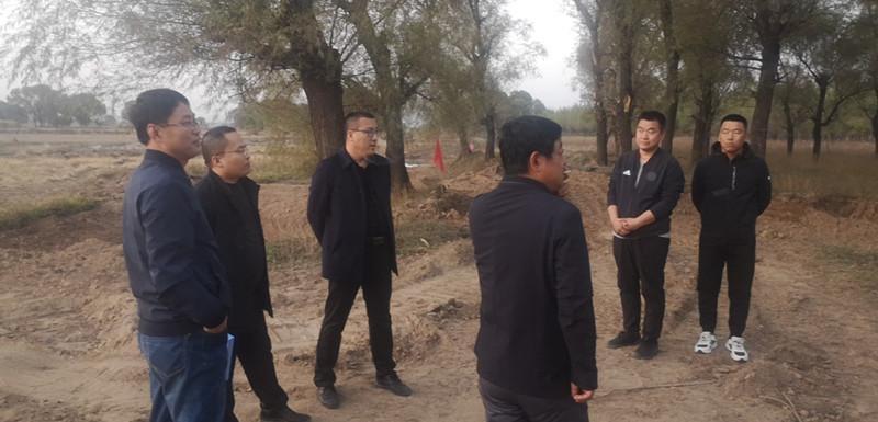 忻州市生态局定襄分局对全县秸秆禁烧进行监督检查
