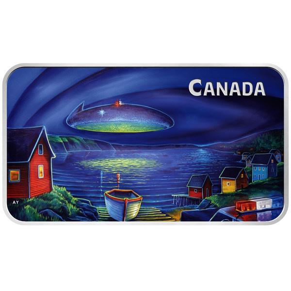加拿大皇家造币厂新纪念币重现1978年UFO事件 | 美通社