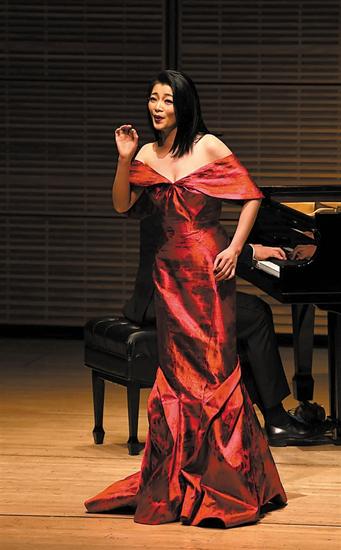 旅美女高音陈泉本月开唱,传递中国当代音乐艺术之美