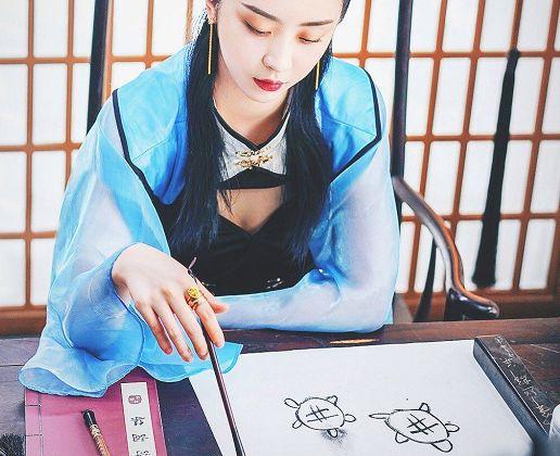 The9的画画水平,赵小棠入门级,看到刘雨昕:你们商量好的吗