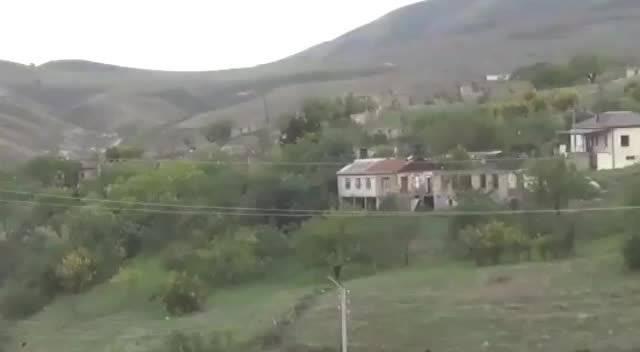 阿塞拜疆请记者代表团参观加布里埃尔地区的达斯克森村……