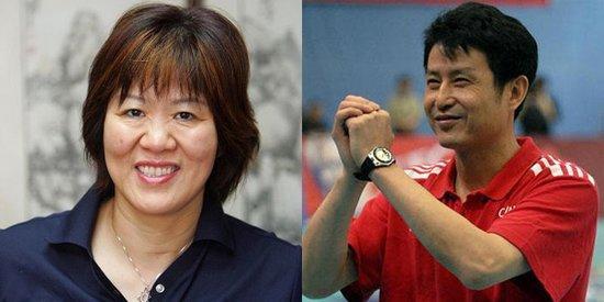 郎平和陈忠和都是中国女排的优秀教练