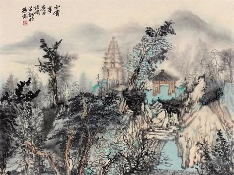 无声之诗:中国山水画家张娟浅说