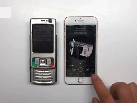 实测诺基亚N95的外放音质,12年前的机皇,对比iPhone谁更好?