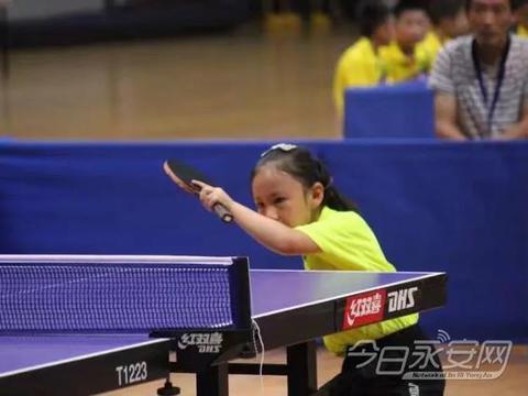 永安市两名乒乓小将突出重围晋级全国赛