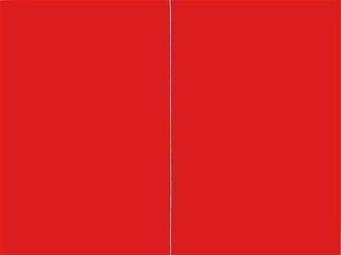 抽象派艺术大师24年里只画直线,其中有一条直线卖了7个亿