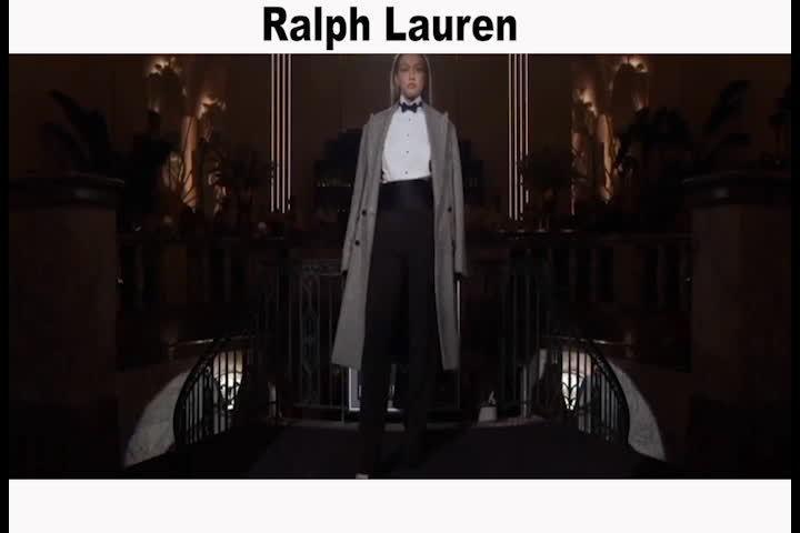 拉夫劳伦Ralph Lauren2019-2020秋冬 英气逼人……