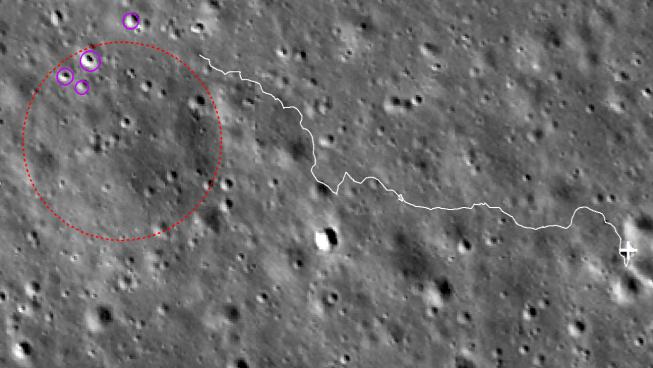 """嫦娥四号着陆器和""""玉兔二号""""月球车迎来第23月昼图片"""
