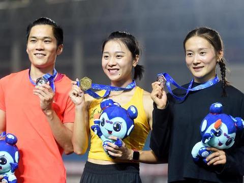 女子百米赛季亚洲前十排名:中日印瓜分9个名额 葛曼棋11秒31第二