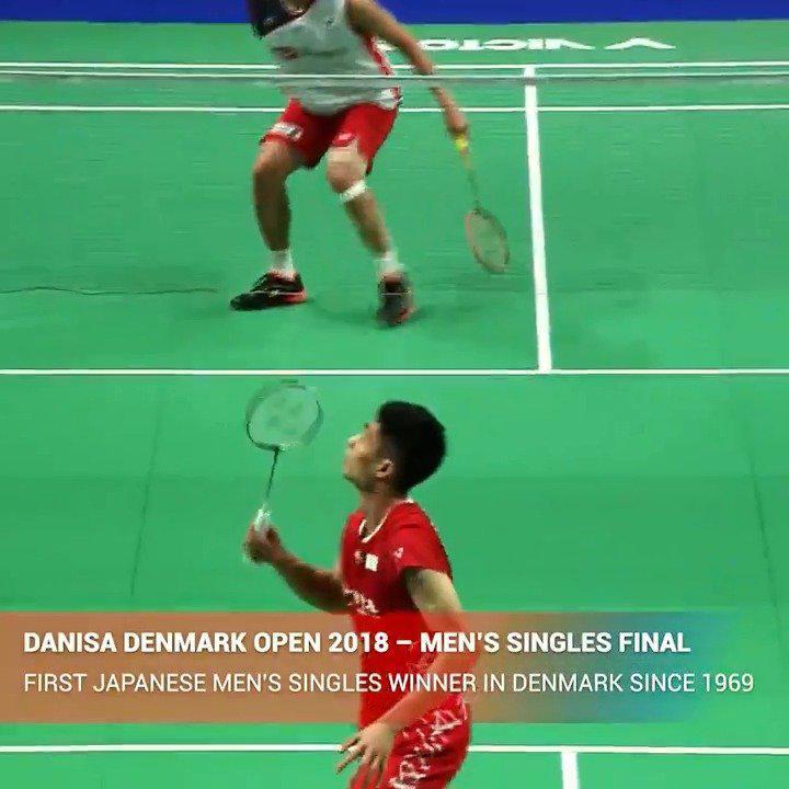 回顾下桃田贤斗在过去两年丹麦公开赛决赛的表现
