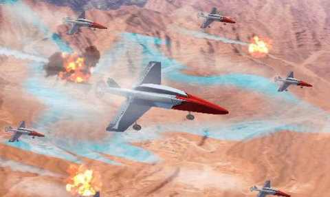 """英国意大利合作,打造""""无人机蜂群""""迷惑雷达"""